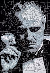 The Godfather by David Arnott -  sized 24x35 inches. Available from Whitewall Galleries